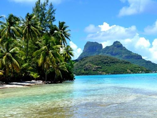 Bora Bora vliegticke