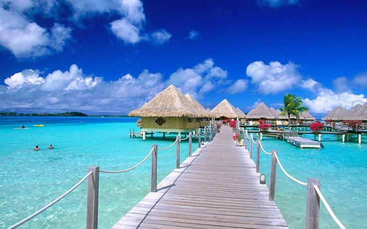 Vliegticket Bora Bora