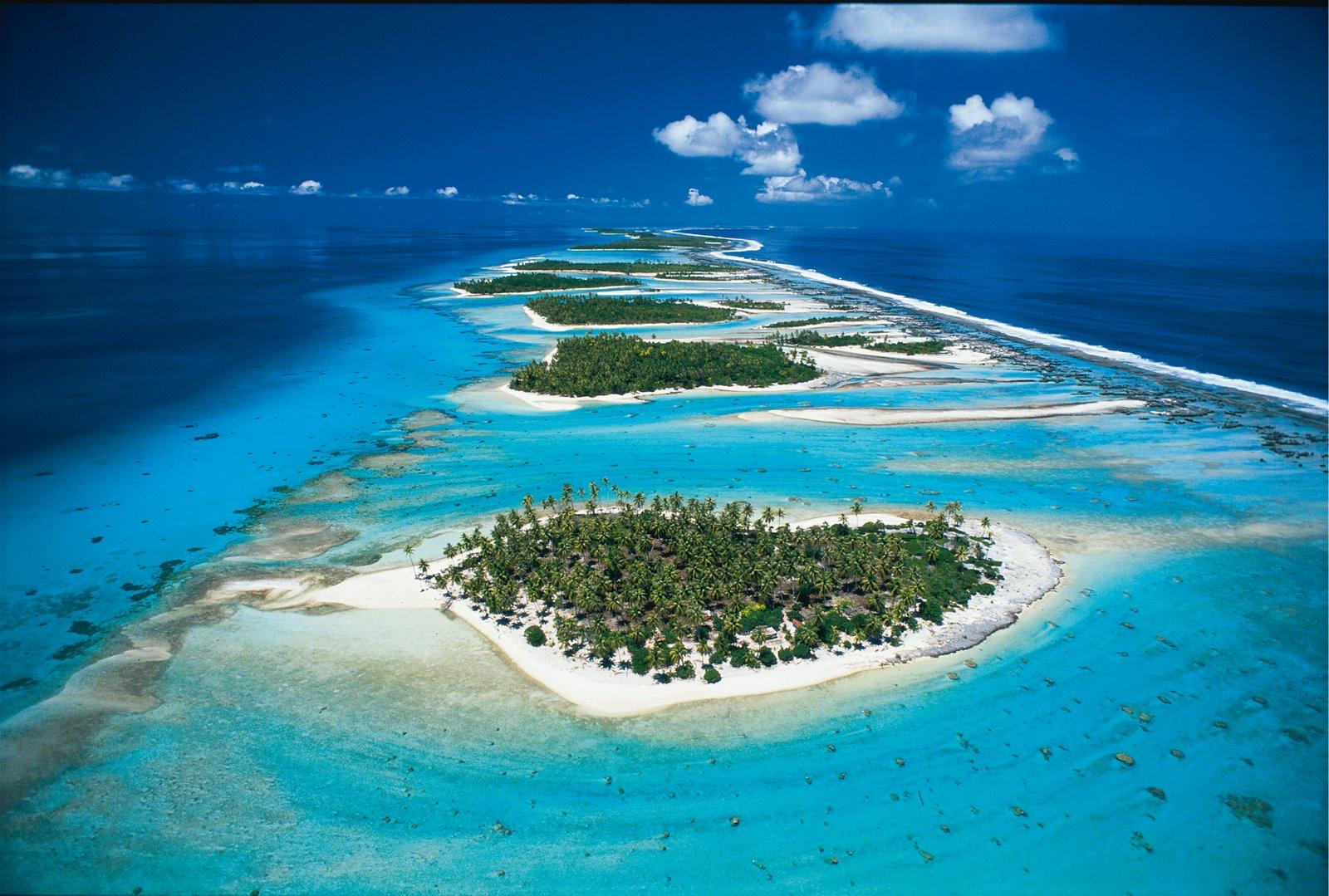 De Tuamotu eilanden