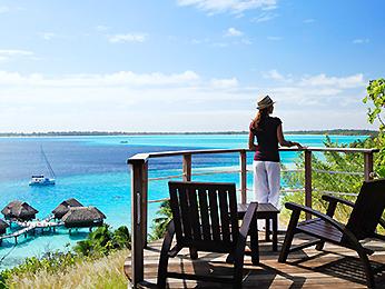 Ligging Bora Bora